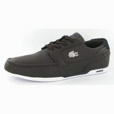 Noir chaussures Chaussent Cuir Homme Grand Chaussure Lacoste yvYb76fg