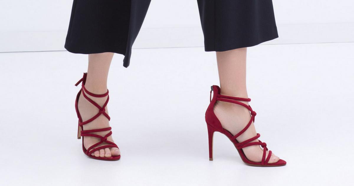 chaussures zara femme nouvelle collection. Black Bedroom Furniture Sets. Home Design Ideas